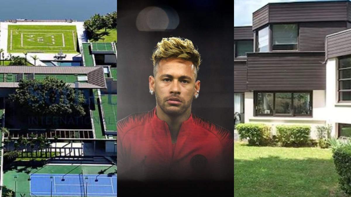 Дом футболиста неймара фото