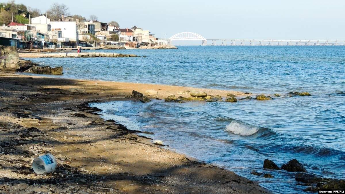 Оккупанты беспокоятся за безопасность пляжей Керчи
