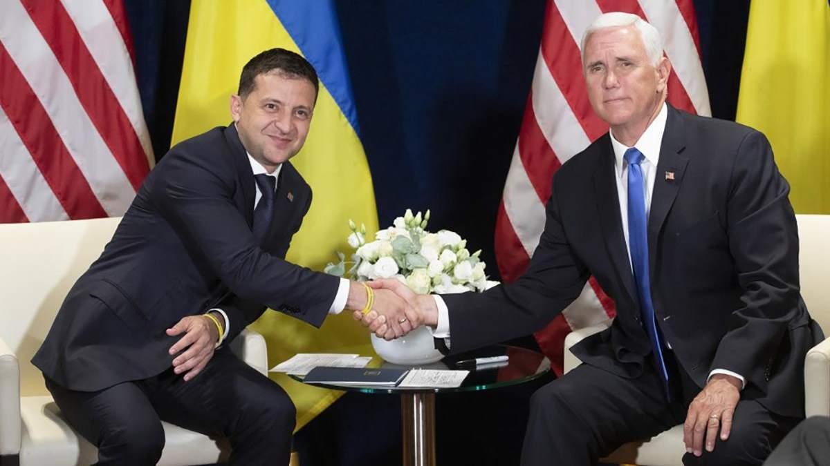 При каком условии США будут оказывать Украине военную помощь: заявление Пенса