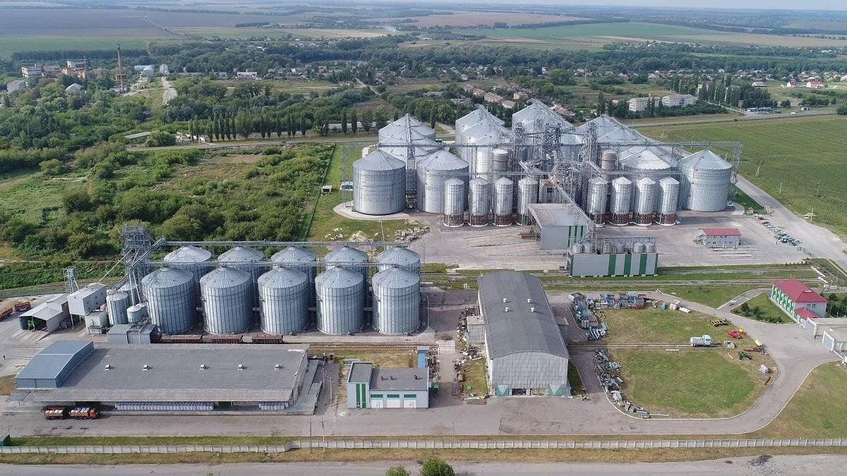 """Сеть элеваторов """"Укрлендфарминг"""" приняла более полумиллиона тонн зерновых нового урожая"""