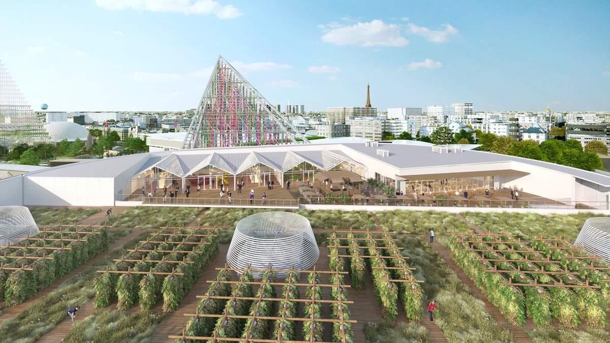 У Парижі відкриється найбільша у світі міська ферма на даху