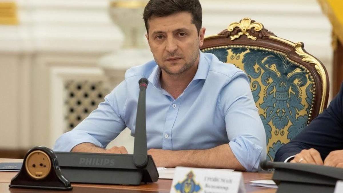 Зеленский не поддержал закон, принятый предыдущей Радой