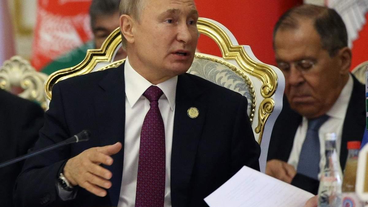 Путин хочет замять вопрос сбитого Россией боинга