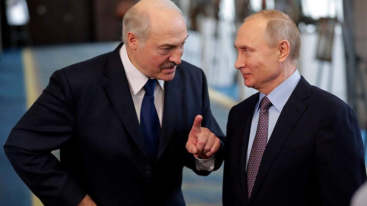 """Лукашенко попросил Россию """"не наклонять"""" Беларусь"""