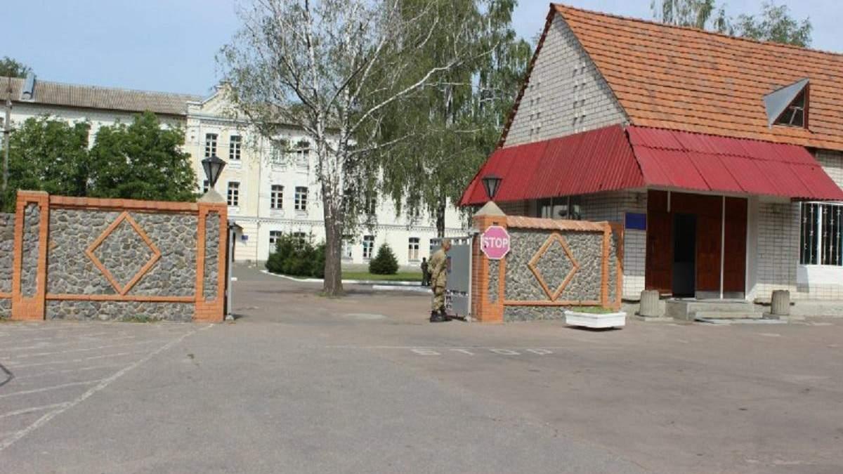 Воинская часть в Бердичеве