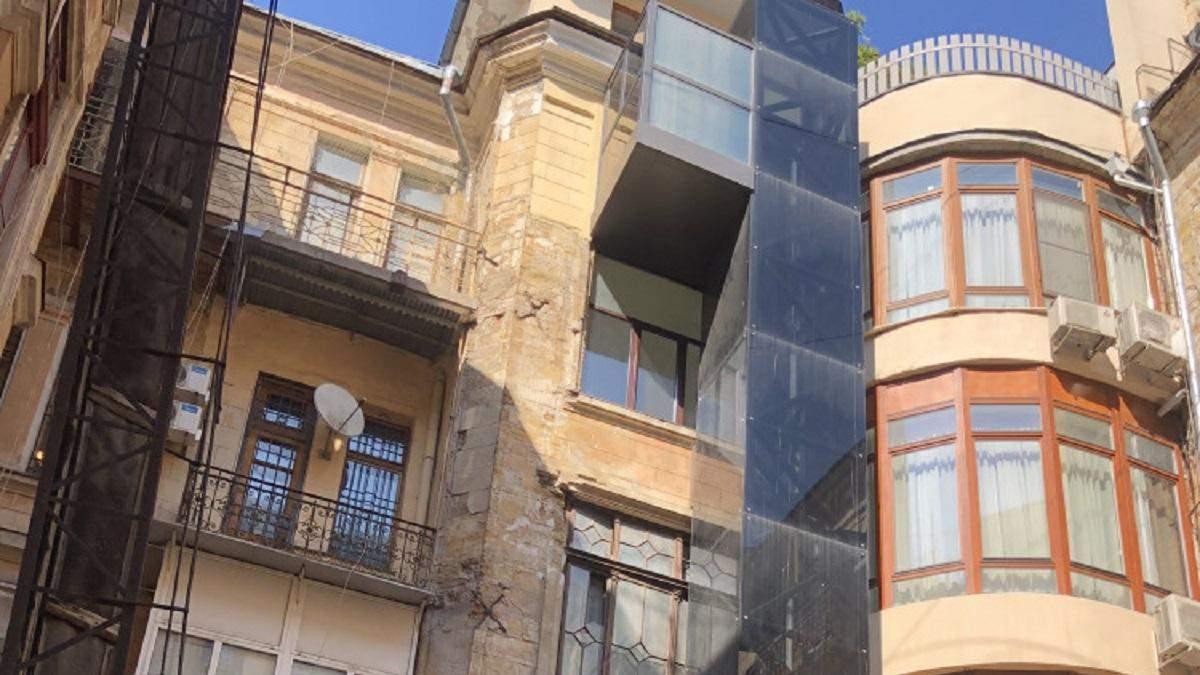Будинок з приватним ліфтом
