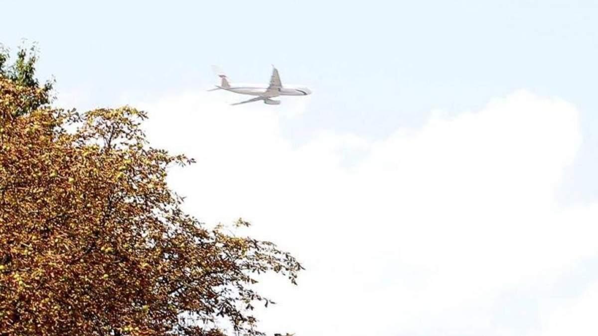 Російський літак прибув у Москву