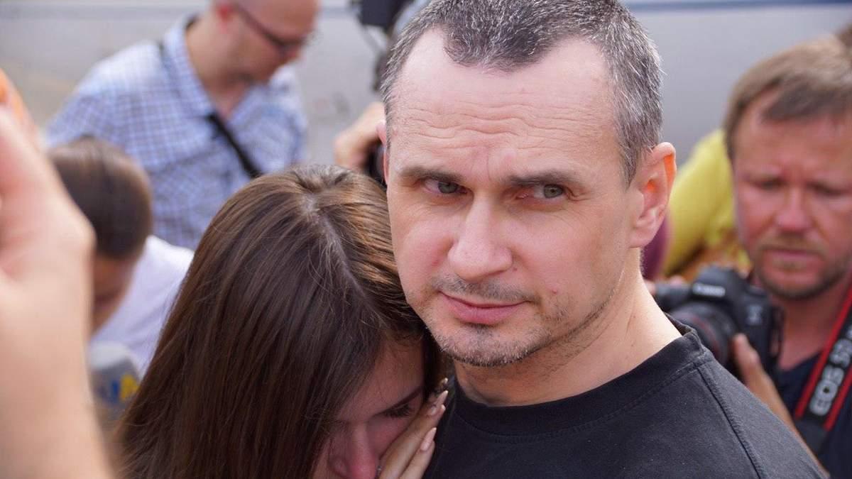 Олег Сенцов повернувся до Києва