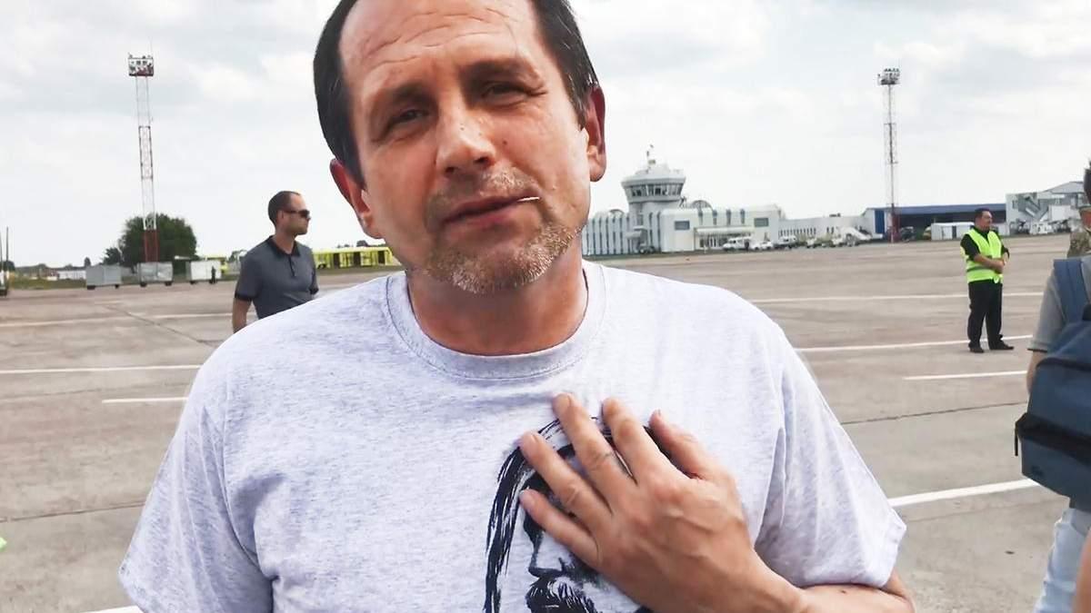Освобожденный из плена Владимир Балух