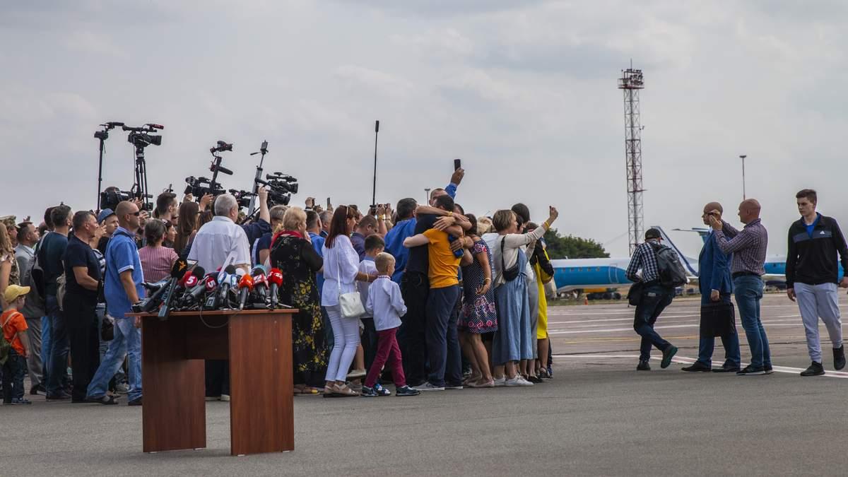 Возвращение пленников Кремля