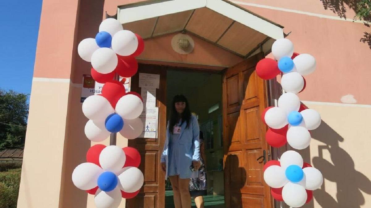 Российские выборы в оккупированном Крыму