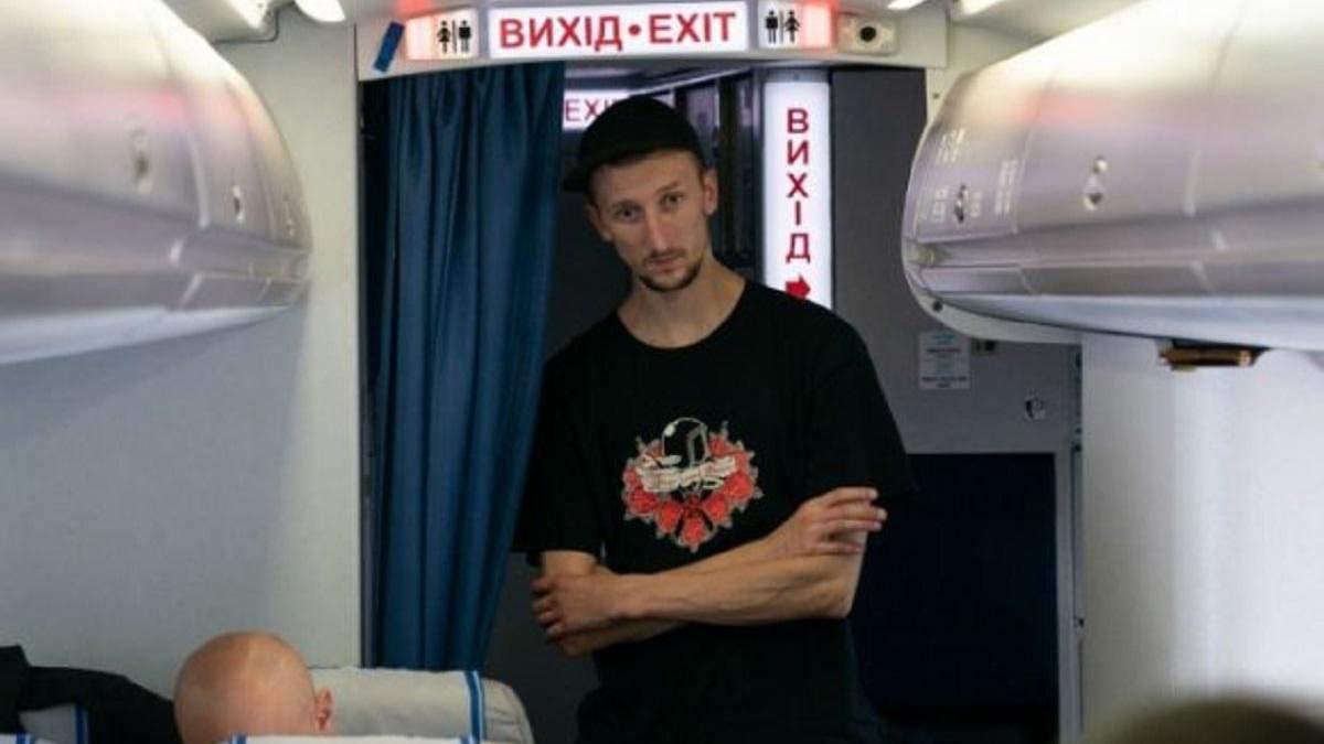 Звільнений з російського полону Кольченко хоче продовжити навчання в університеті