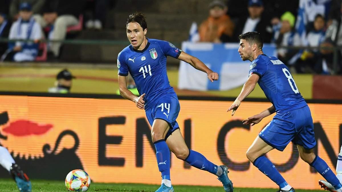 Збірна Італії перемогла Фінляндію на виїзді