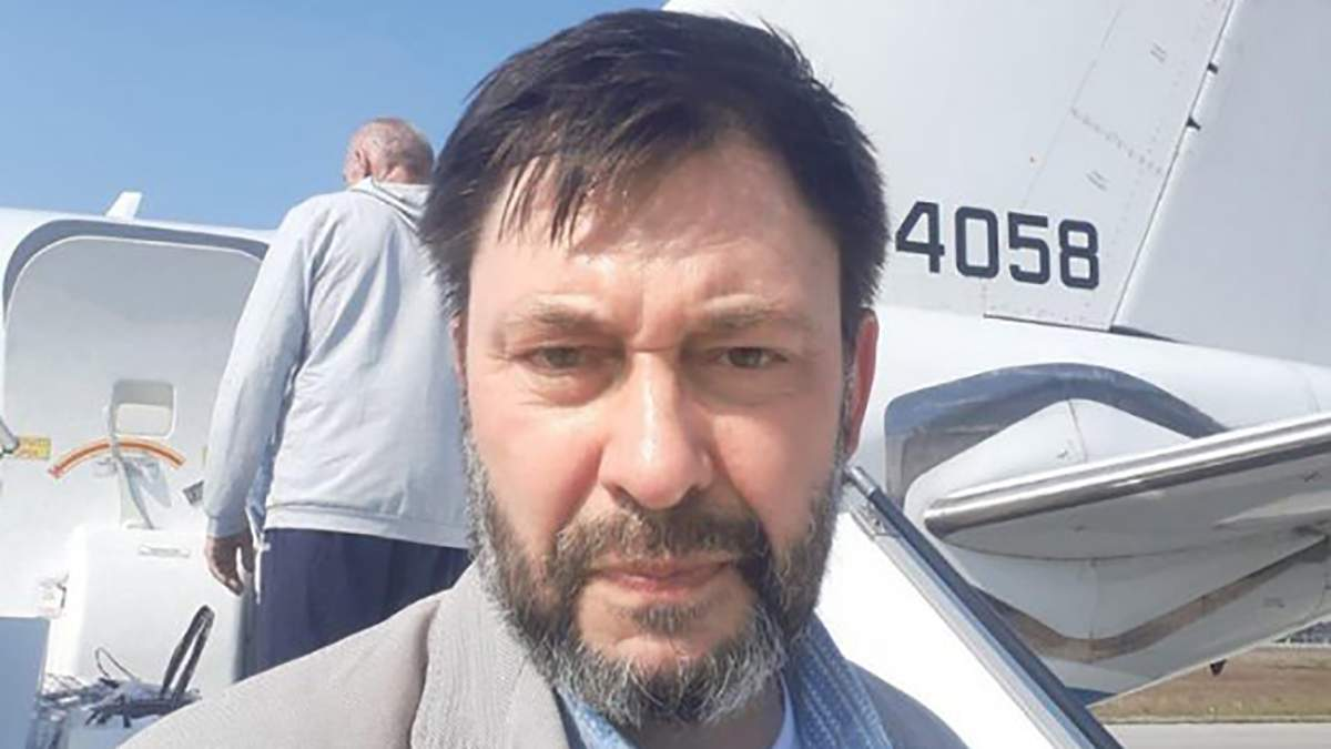 Кирилл Вышинский вернулся в РФ