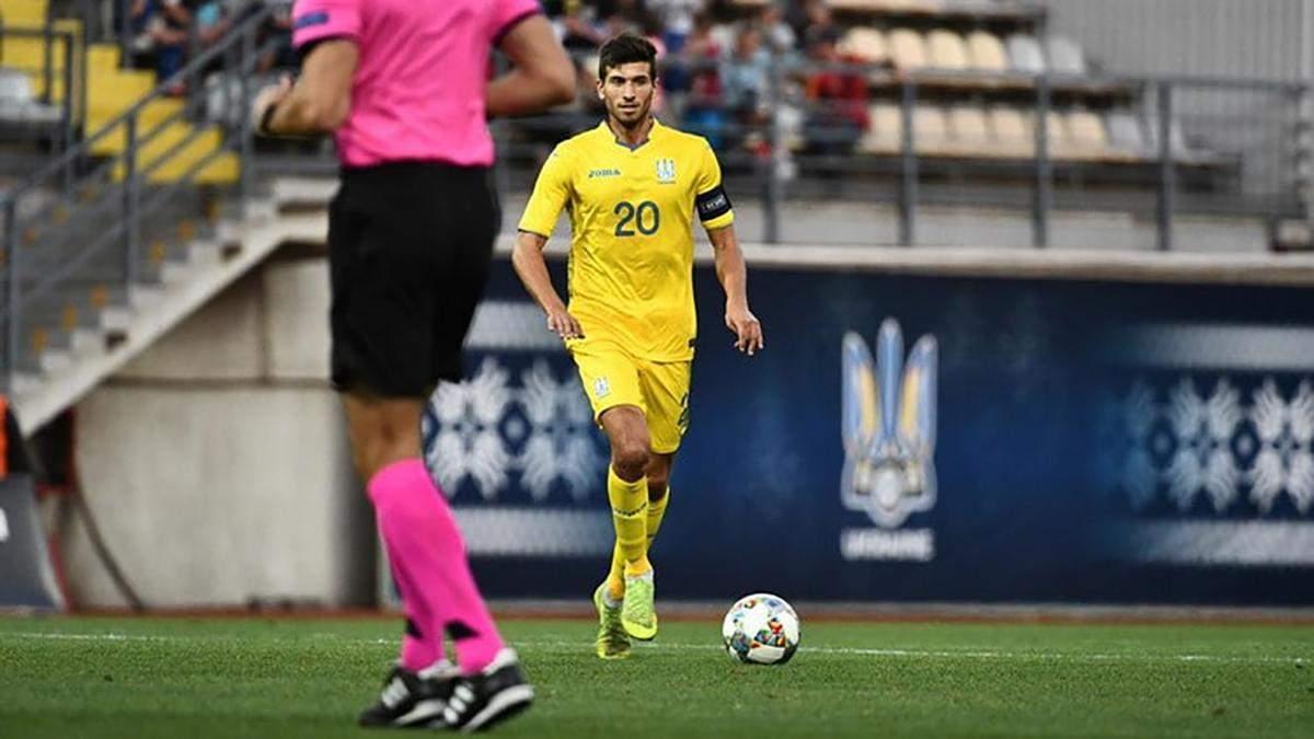 Україна U-21 – Мальта U-21: результат матчу та відео голів