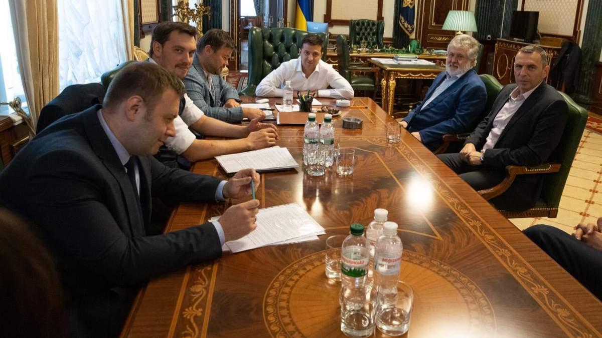 Команда Зеленского встретилась с Коломойским
