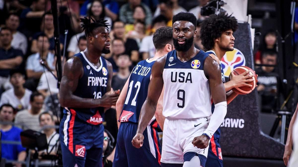 США сенсаційно програли Франції в 1/4 фіналу Кубка світу з баскетболу, пропустивши ривок у +15