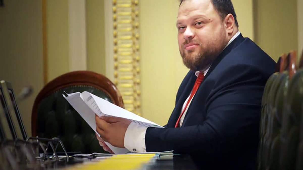 Разобраться со случаями кнопкодавства Стефанчук поручил регламентному комитету Рады