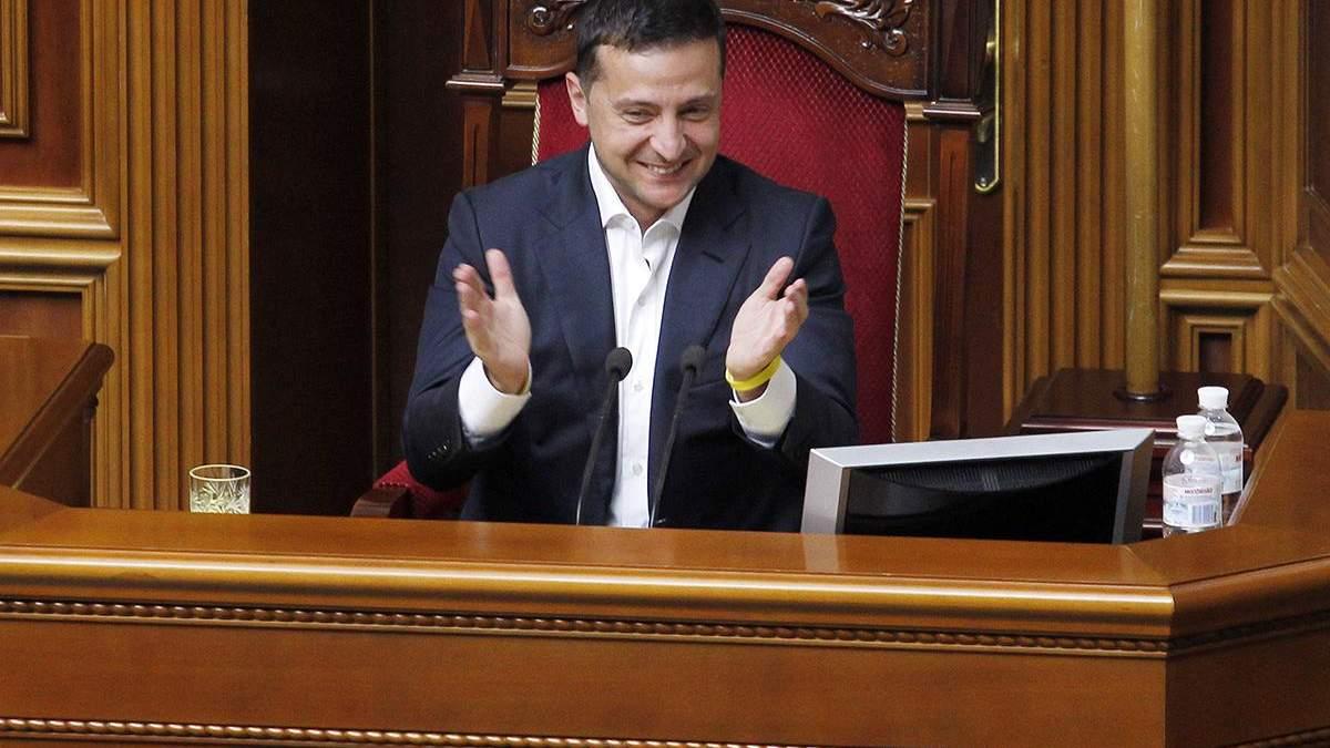 Законопроекты Зеленского поддерживает большинство украинцев