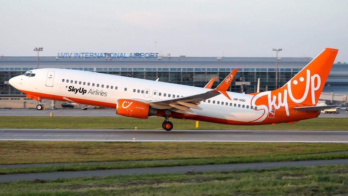 SkyUp відкриває рейси до ОАЕ зі Львова, Запоріжжя і Харкова
