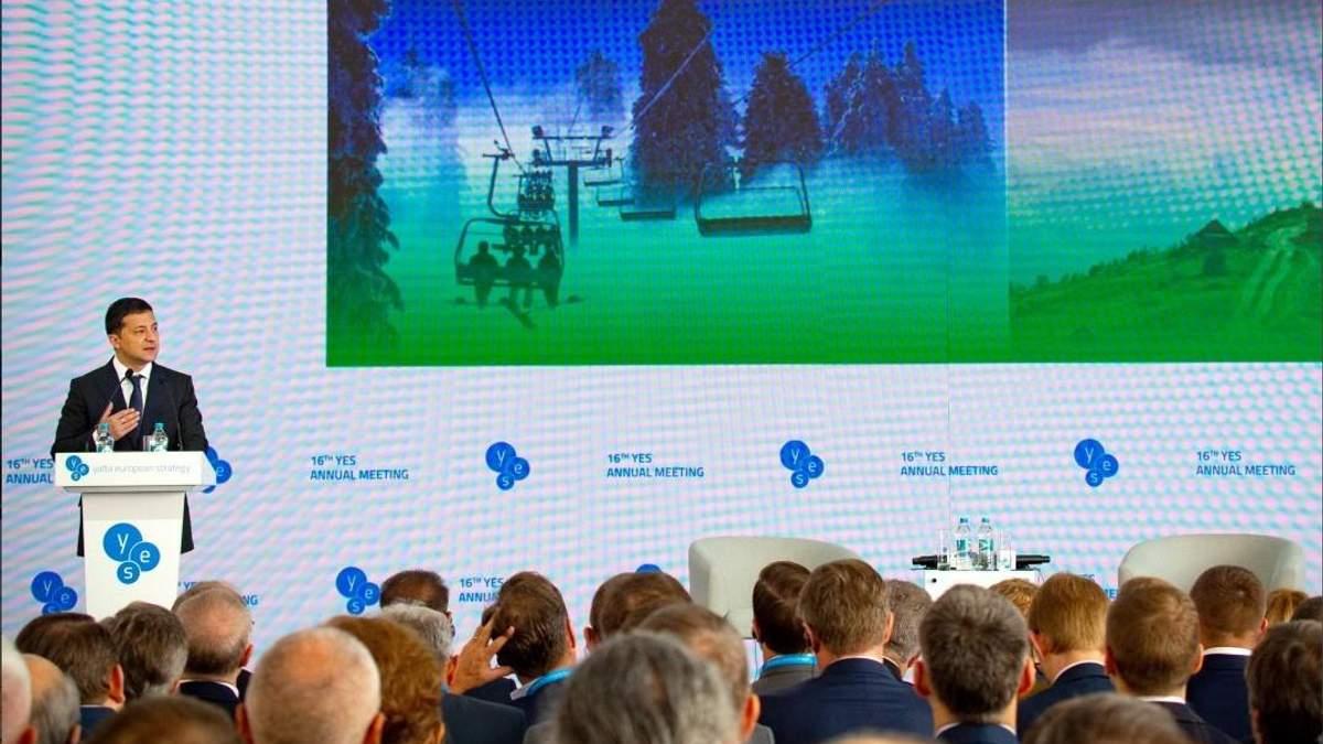 Зеленский призывает иностранцев инвестировать в Украину