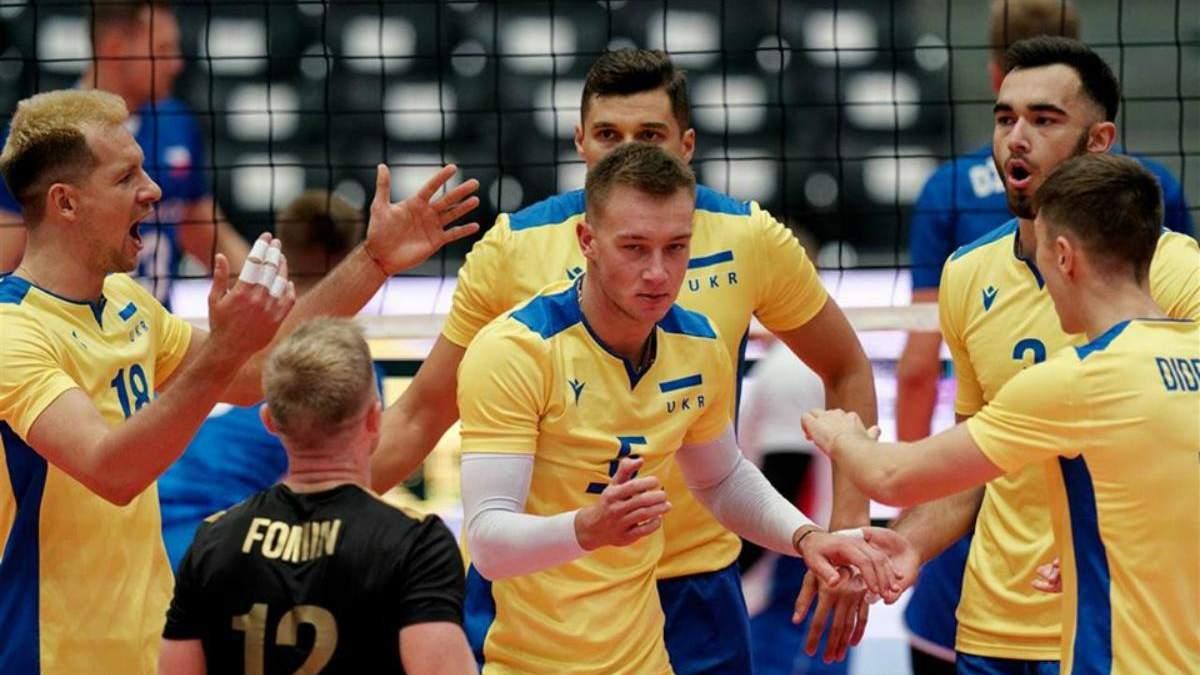 Збірна України з волейболу перемогла у першому матчі Євро-2019