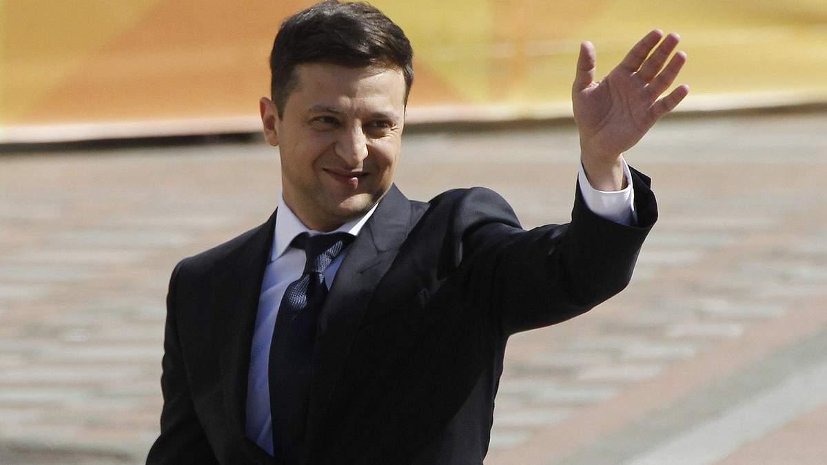 Рейтинги президента Зеленського ростуть