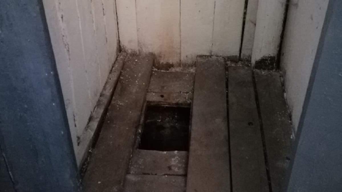 """""""Шкільний туалет"""" у Хустському районі Закарпаття"""