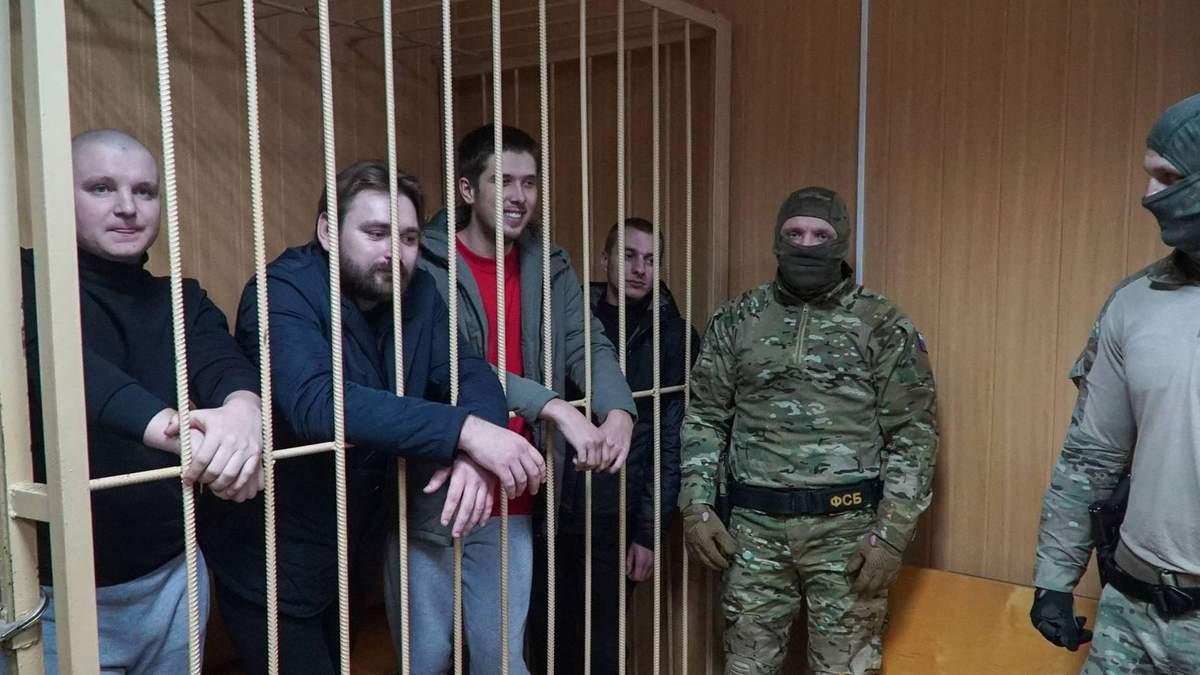 Справа проти українських моряків досі продовжується в Росії