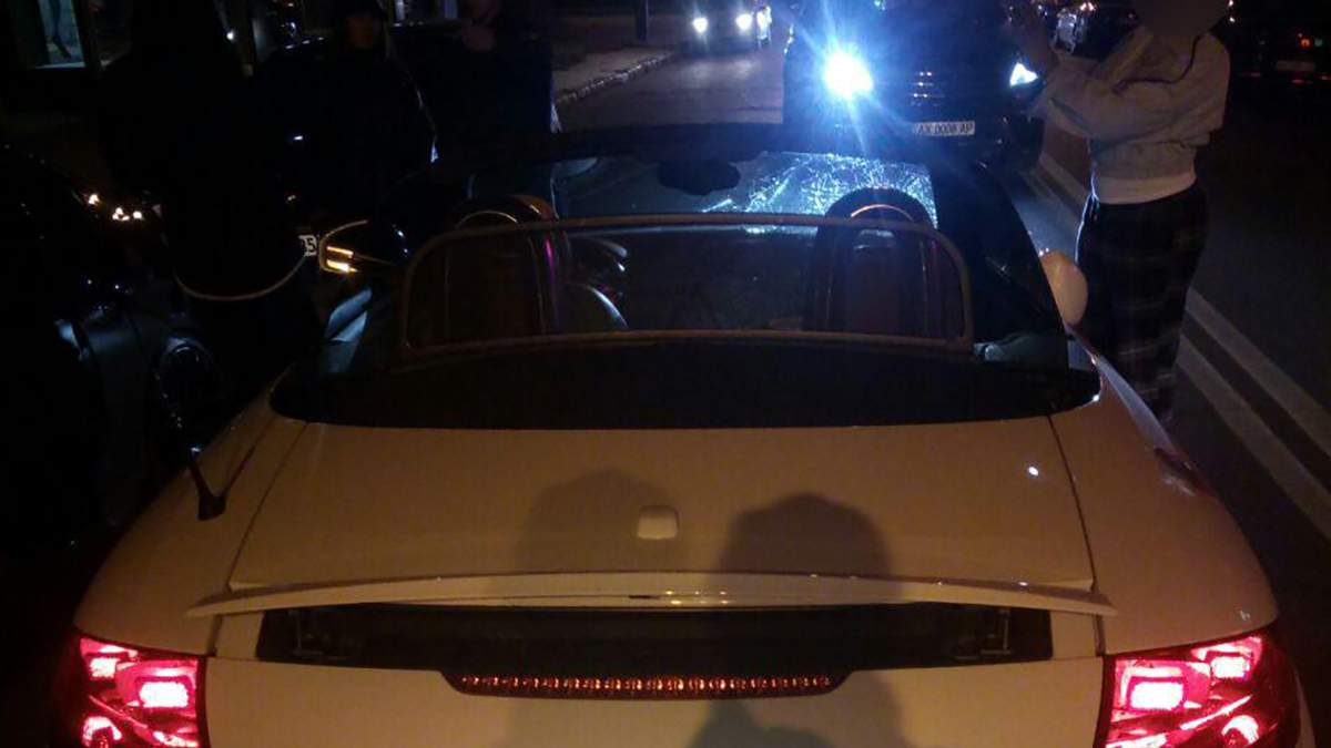 Мажорное ДТП в Харькове: водитель кабриолета рассказала свою версию происшествия – видео