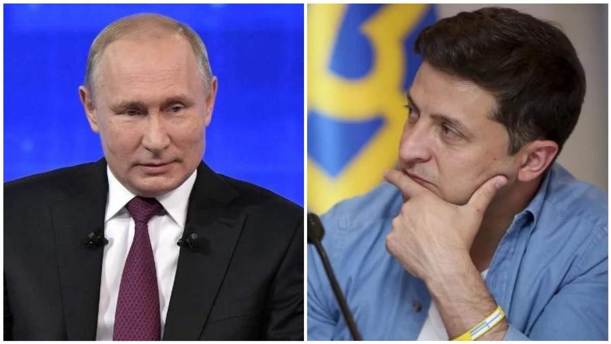 Первая встреча Зеленского и Путина: росСМИ назвали вероятную дату
