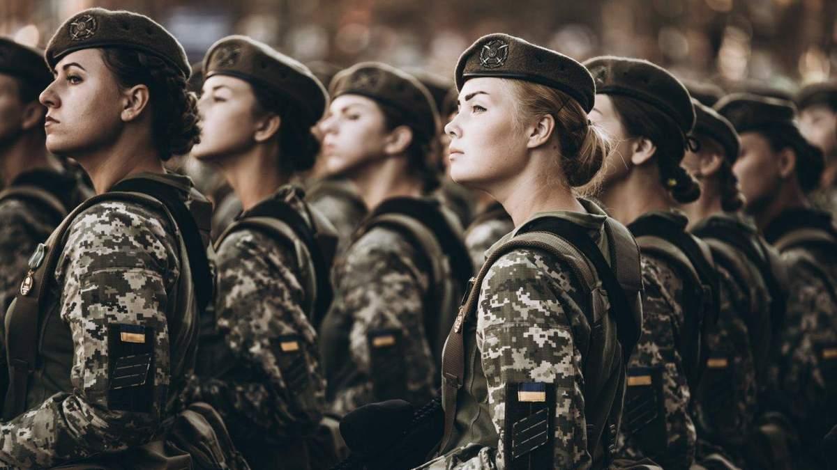 З початку війни на Донбасі кількість жінок в українському війську зросла вдесятеро
