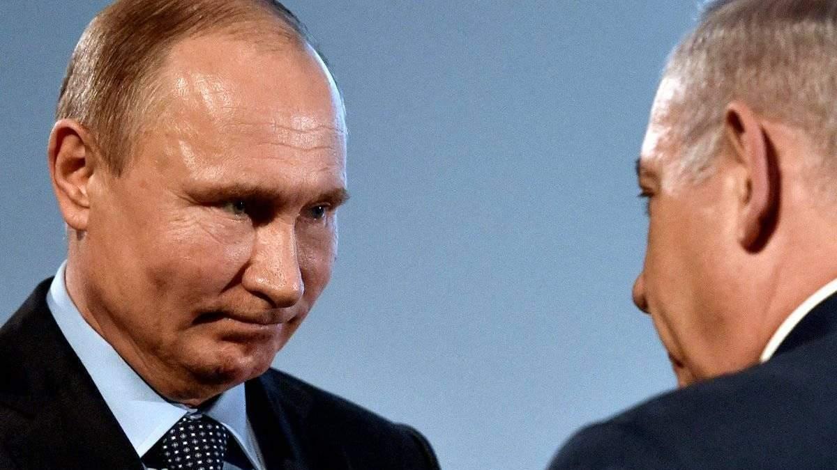 Путін назвав Ізраїль російськомовною країною