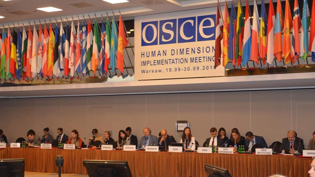 Засідання ОБСЄ щодо свободи слова, Варшава, 17 вересня