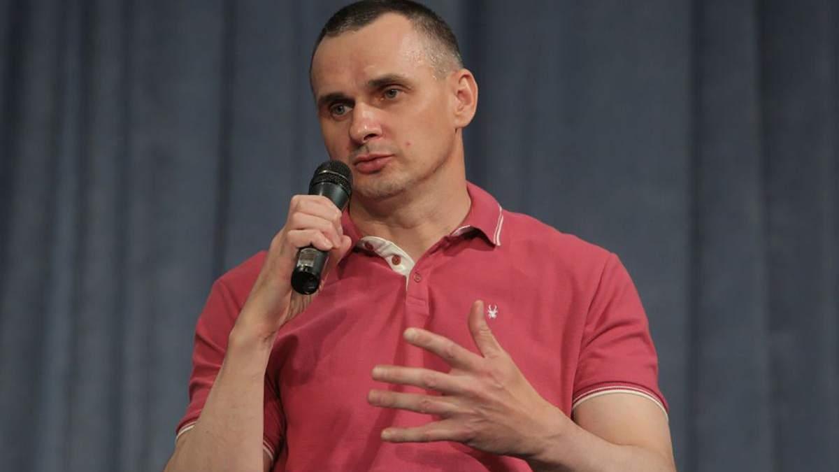 Сенцов розповів про етапування в російські в'язниці