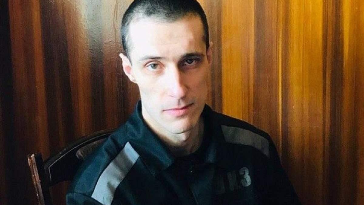 Политзаключенный, военнослужащий ВСУ Александр Шумков