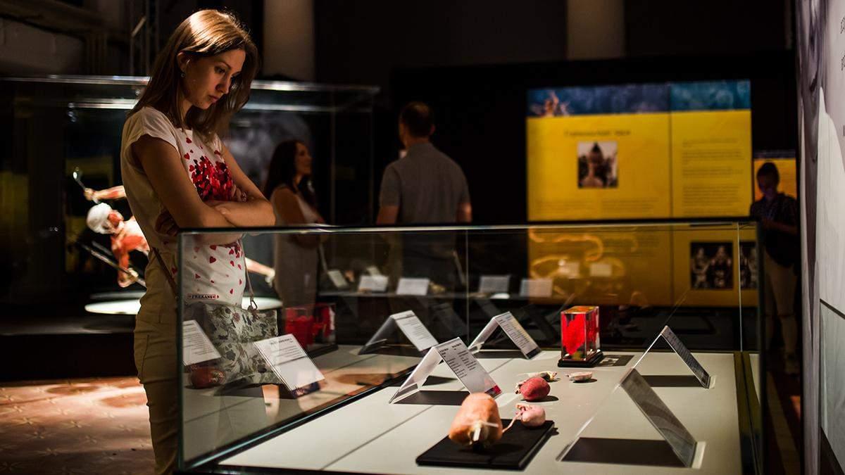 Моторошні експонати та невідомі деталі про людське тіло: чим вражає виставка на ВДНГ