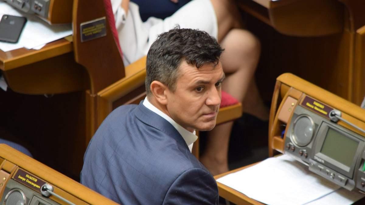 """Хто ви така, попийте водички, – """"слуга народу"""" Тищенко нагрубіянив журналістці: відео"""