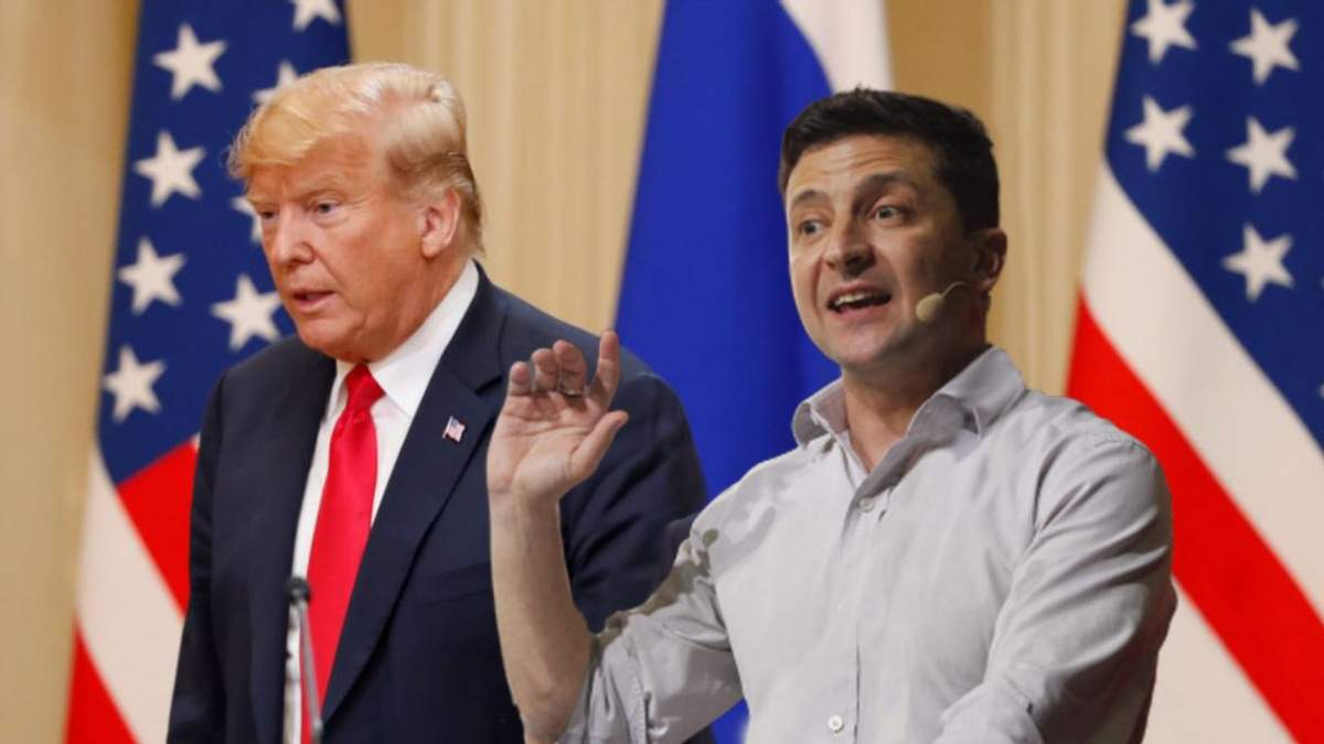 Дональд Трамп та Володимир Зеленський