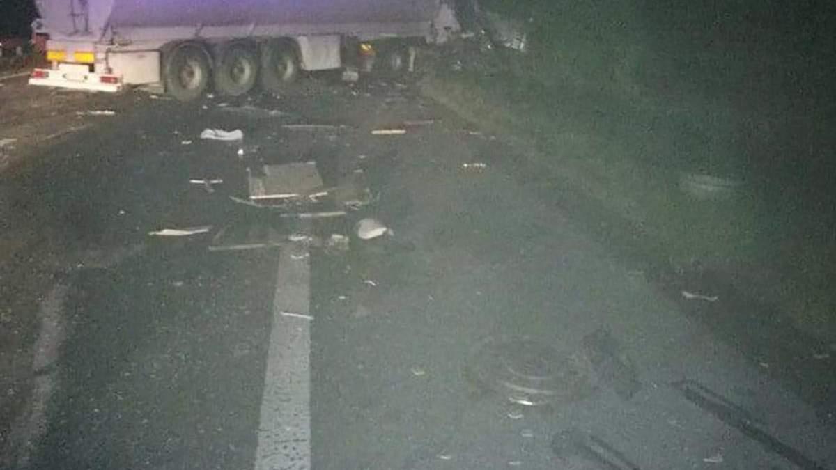 Затримали водія вантажівки, який спричинив ДТП із дев'ятьма загиблими
