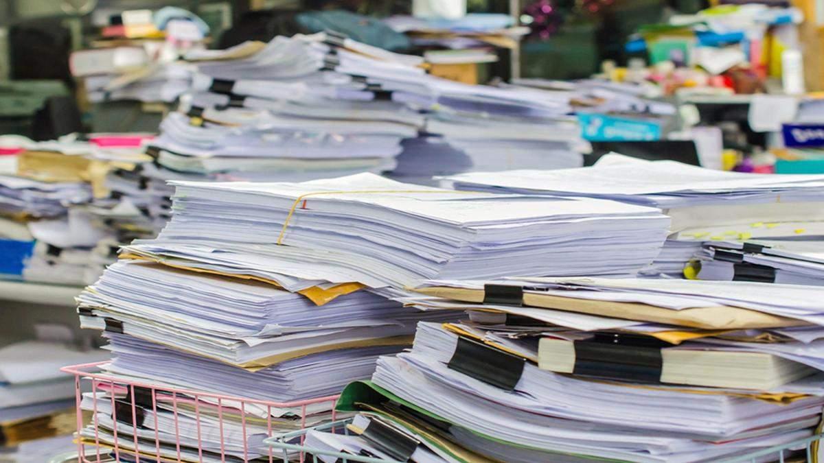 З 1 жовтня в Україні планують відмовитися від паперового документообміну