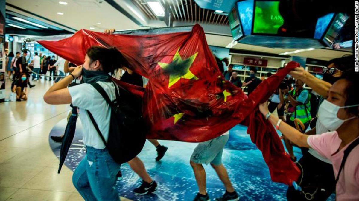 Протести у Гонконзі тривають четвертий місяць