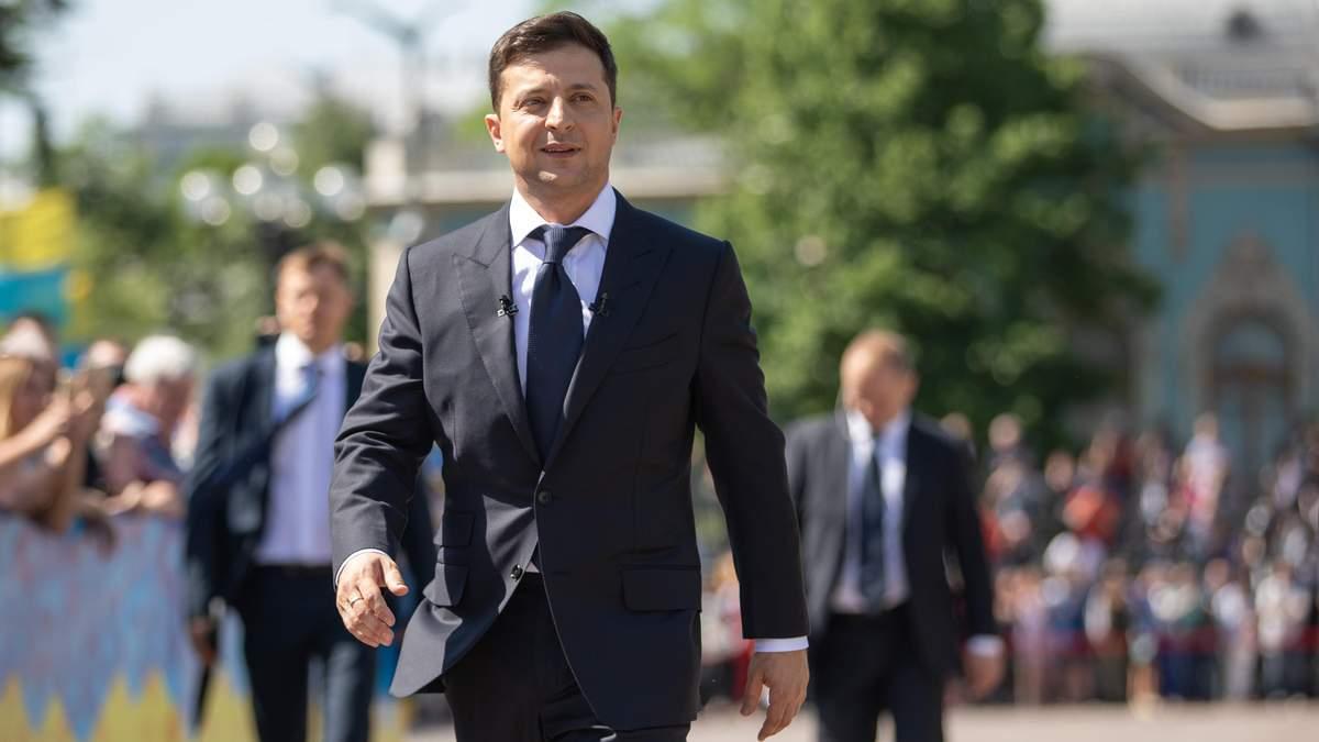 Візит Зеленського до США: перша зустріч президента була з українською діаспорою