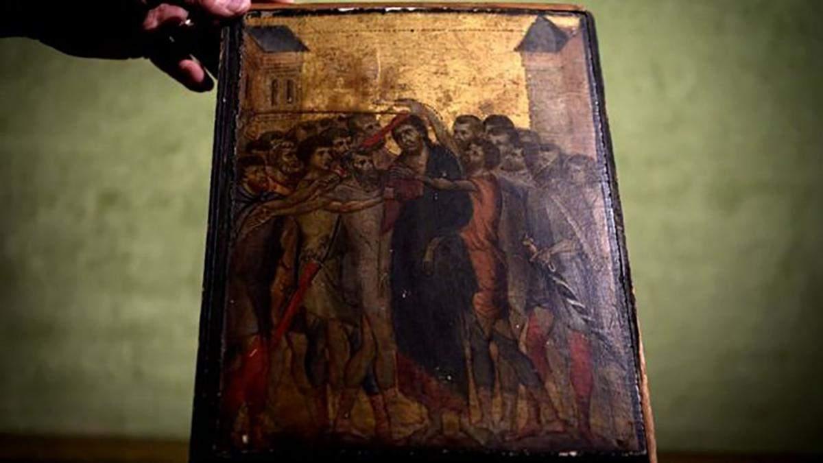 """Картина """"Осмеяние Христа"""""""