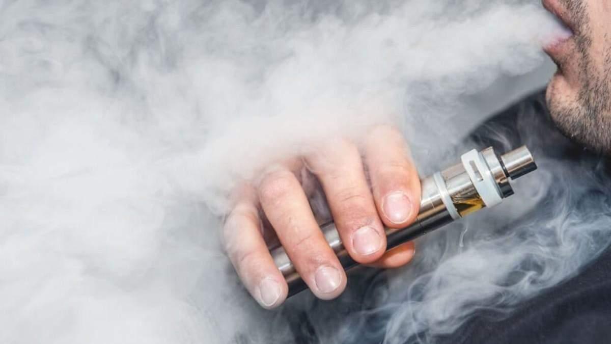 Сім людей стали жертвами електронних пристроїв для куріння