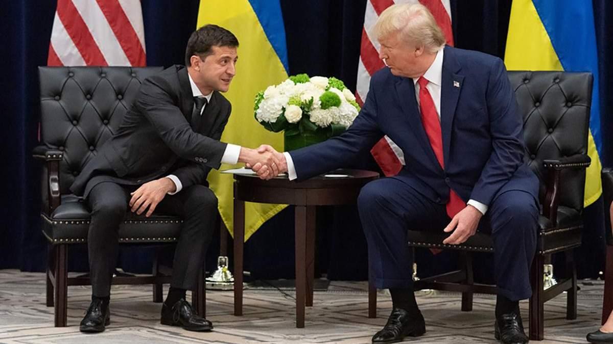 Трамп готов показать еще одну стенограмму разговора с Зеленским