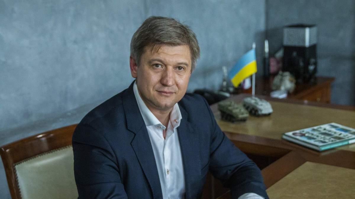Данилюк написав заяву про звільнення на ім'я Зеленського