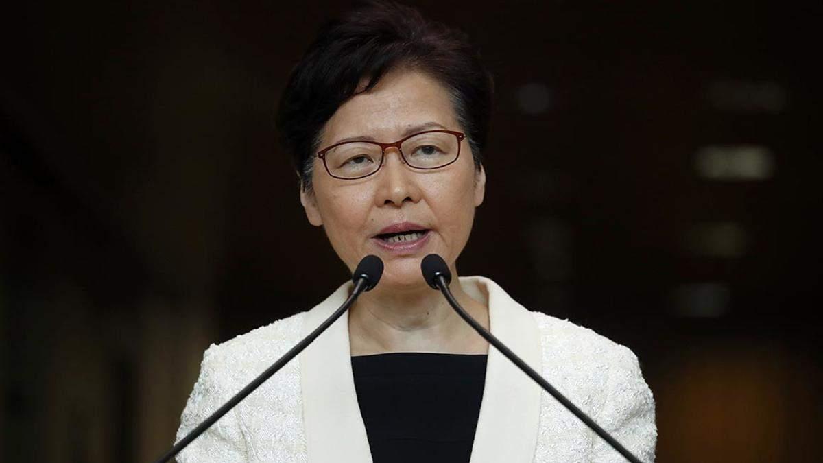 Очільниця Гонконгу – Керрі Лам