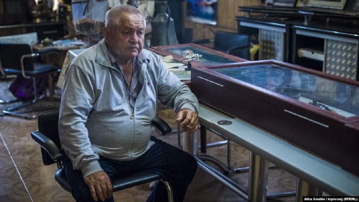 Крымскотатарский активист Ильвер Аметов