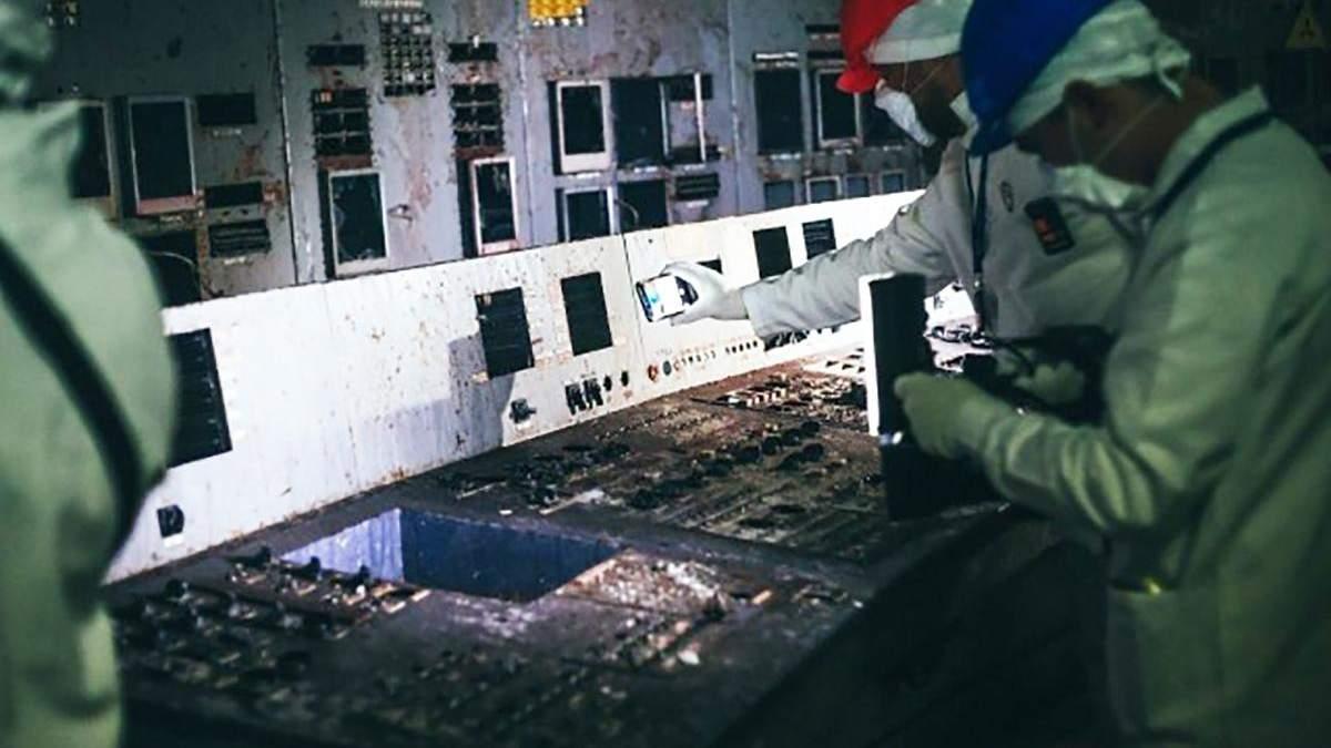 Фото зсередини четвертого енергоблоку ЧАЕС